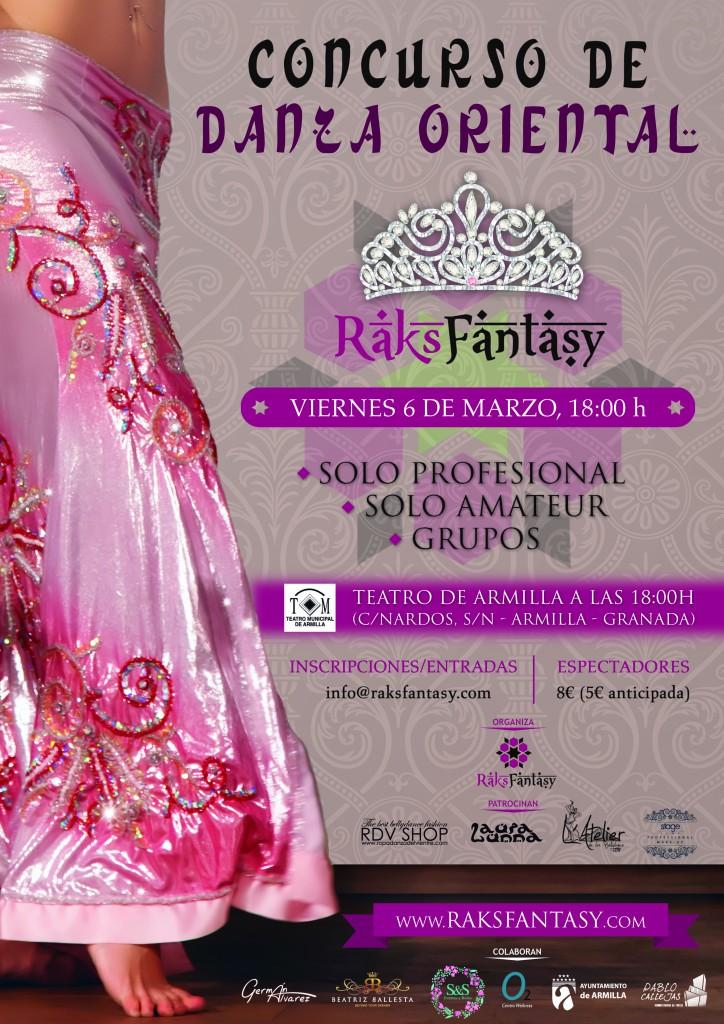 cartel concurso Raks Fantasy 2015